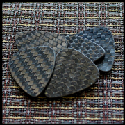 Carbon Tones - Boner - 4 Guitar Picks | Timber Tones